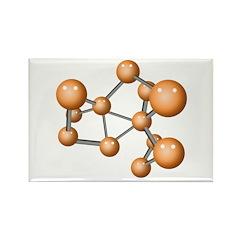 Social Network Rectangle Magnet