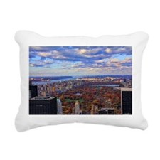 Cute New york skyline Rectangular Canvas Pillow