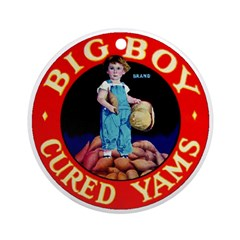 Big Boy Brand Ornament (Round)