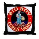 Big Boy Brand Throw Pillow