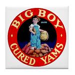 Big Boy Brand Tile Coaster