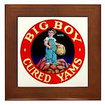 Big Boy Brand Framed Tile