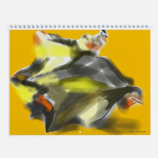 2D and 3D Images Wall Calendar