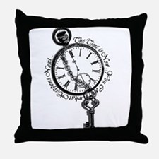 The Time is Now! Design Throw Pillow