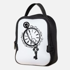 The Time is Now! Design Neoprene Lunch Bag