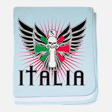 Italian Pride baby blanket