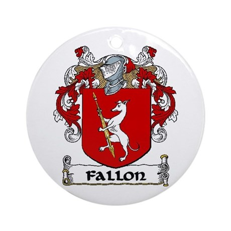 Fallon Coat of Arms Ornament (Round)