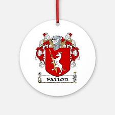 Fallon Coat of Arms Ornament (Round)