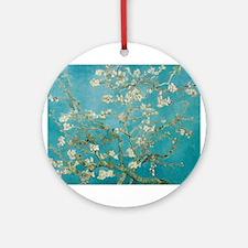 Almond Blossoms Ornament (Round)