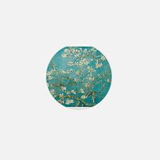 Almond Blossoms Mini Button