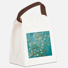 Almond Blossoms Canvas Lunch Bag