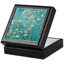 Almond Blossoms Keepsake Box