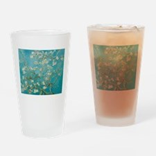 Almond Blossoms Drinking Glass