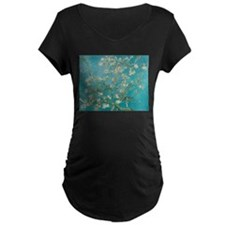 Almond Blossoms Maternity T-Shirt