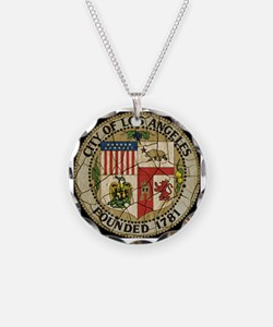 Los Angeles Vintage Seal Necklace