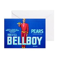 Bellboy Brand Greeting Cards (Pk of 10)