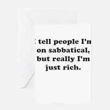 Sabbatical Greeting Cards