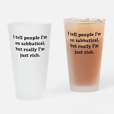 Sabbatical Drinking Glass