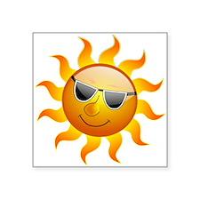 Summer Sun Smile Sticker