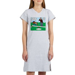 Beaver Bad Day Women's Nightshirt
