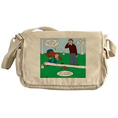Beaver Bad Day Messenger Bag