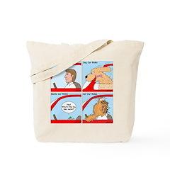 Pet Car Rides Tote Bag