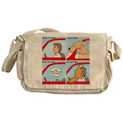 Pet Car Rides Messenger Bag