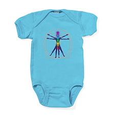 Chakra Spirit Woman Baby Bodysuit