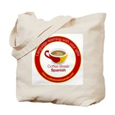 Coffee Break Spanish Tote bag