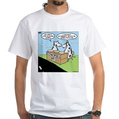 Cow Pies White T-Shirt