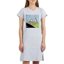 Cow Pies Women's Nightshirt