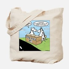 Cow Pies Tote Bag
