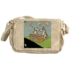 Cow Pies Messenger Bag
