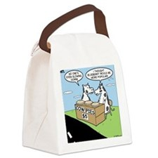 Cow Pies Canvas Lunch Bag