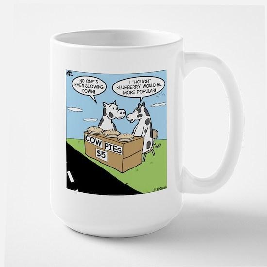 Cow Pies Large Mug
