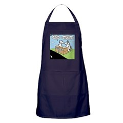 Cow Pies Apron (dark)