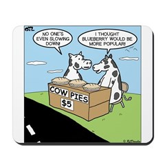 Cow Pies Mousepad