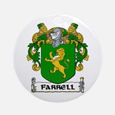 Farrell Coat of Arms Ornament (Round)