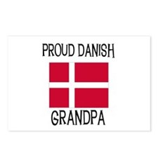 Proud Danish Grandpa Postcards (Package of 8)