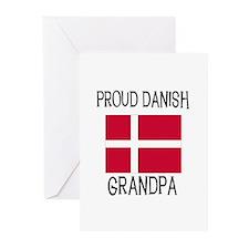 Proud Danish Grandpa Greeting Cards (Pk of 10)