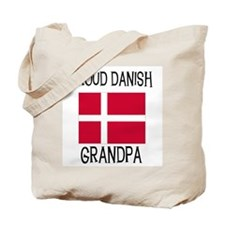 Proud Danish Grandpa Tote Bag