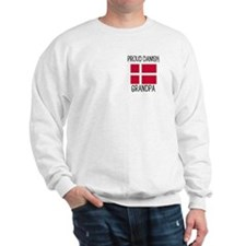 Proud Danish Grandpa Sweatshirt