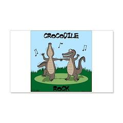 Crocodile Rock Wall Decal