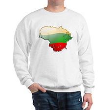 """Lithuania Bubble Map"" Sweatshirt"