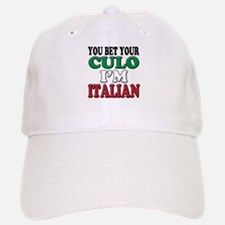 Italian Saying Baseball Baseball Baseball Cap