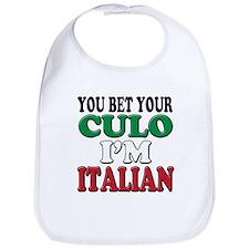 Italian Saying Bib