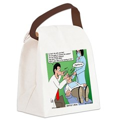Dentist Speak Canvas Lunch Bag
