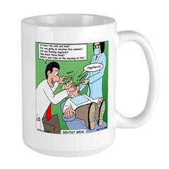 Dentist Speak Mug