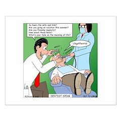 Dentist Speak Posters