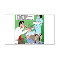 Dentist Speak Wall Decal